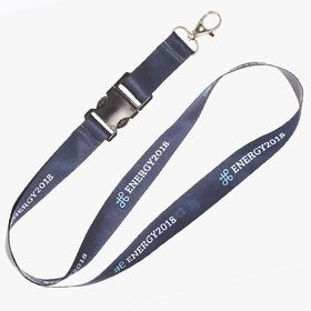 Promotional lanyard straps with accessories