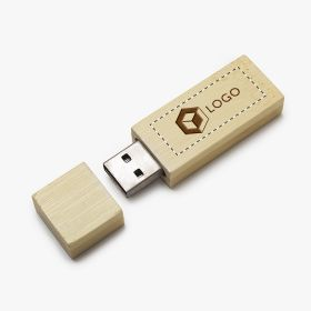 Unidade flash USB de bambu 4GB