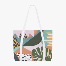Bolsas de tela grandes all-over-print