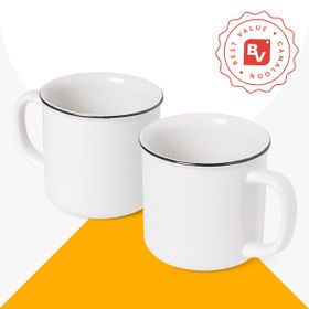 Best Value® Ceramic Vintage Mug | 350 ml