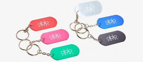Your custom keychains will cost you very little. | Camaloon