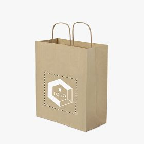 Twisted handle paper bags | 30,5 x 34 cm
