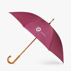 Umbrellas with wooden handle