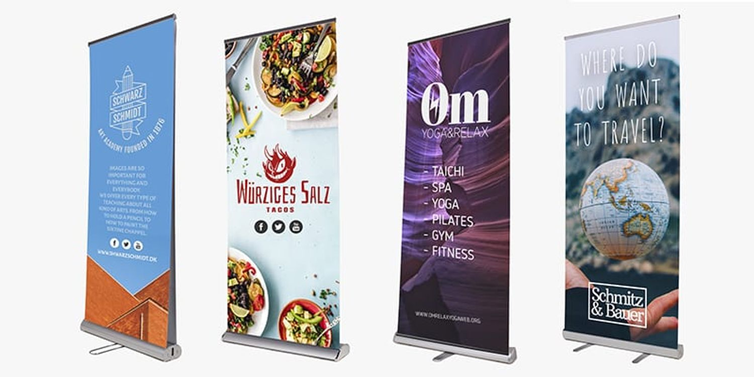 Tips For Your Roll Up Banner Design