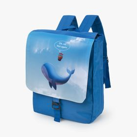 Kids backpacks with single clip