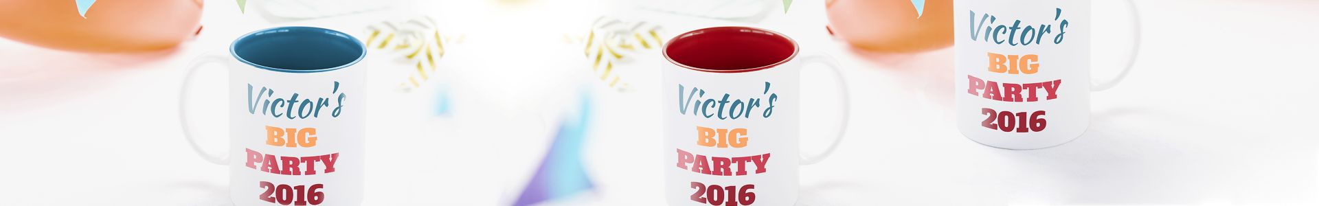 Mugs for events and celebrations | Camaloon
