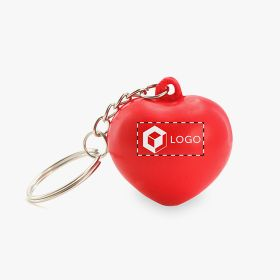 Keychains antistress heart