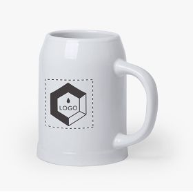 Ceramic beer mugs | 700 ml