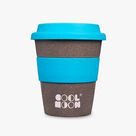 Reusable coffee cups in bamboo fibre and plastic | 350 ml