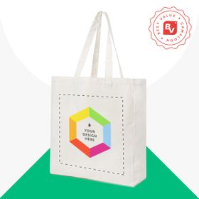 Best Value® organic cotton shopping bags 270 g/m²