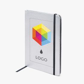 A5 metallic hardcover notebooks