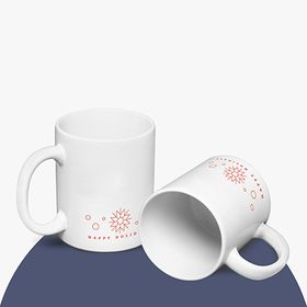 Happy Holidays mugs en céramique | 350 ml