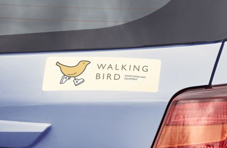 Standard shape car stickers | Camaloon