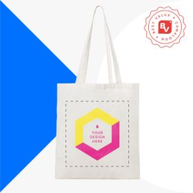 Best Value® tote bag di cotone 120 g/m²