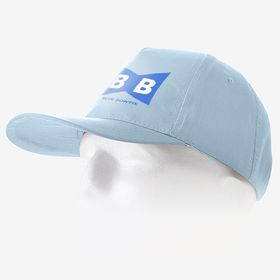 Casquettes K-up en coton à 5 empiècements