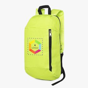 Small sport backpacks with front pocket