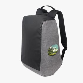 "Polyester anti theft laptop backpacks 15.6"" with hidden zip and pockets"