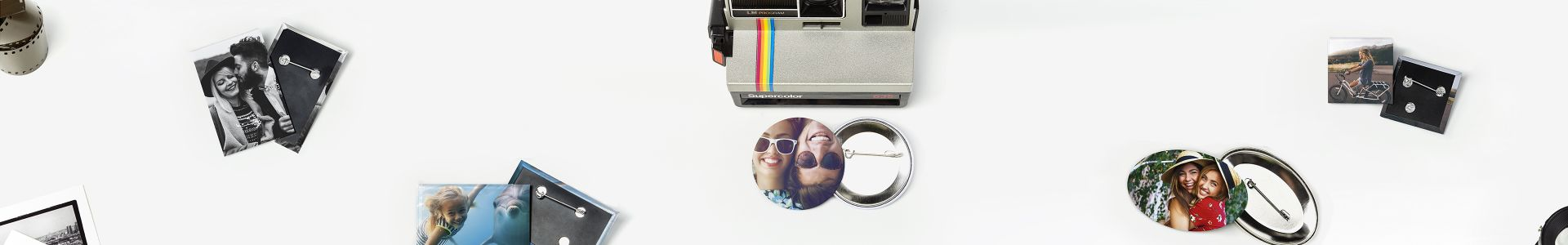 Photo buttons | Camaloon