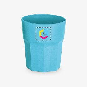 Rice fibre cups | 400 ml