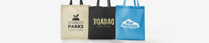 Custom shopping bags accessibility.image