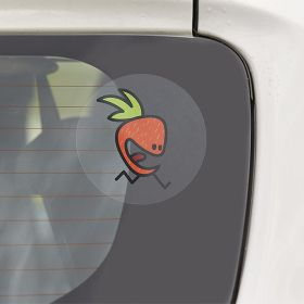 Transparent car stickers