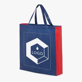 Two-tone nonwoven fabric shopping bags 70 g/m²