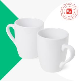 Best Value® Oval Ceramic Mug | 350 ml