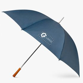 Golf umbrellas with wooden handle