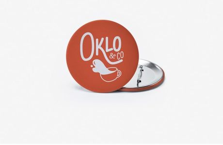 Personalised round badges | Camaloon