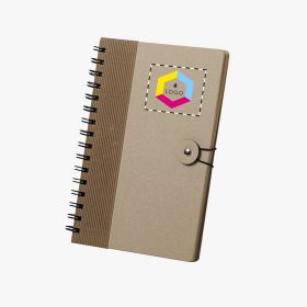 Recycled cardboard notebooks A5