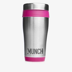Stainless steel classic style insulated travel mugs | 450 ml