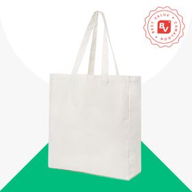 Best Value® borse shopper di cotone organico 270 g/m²
